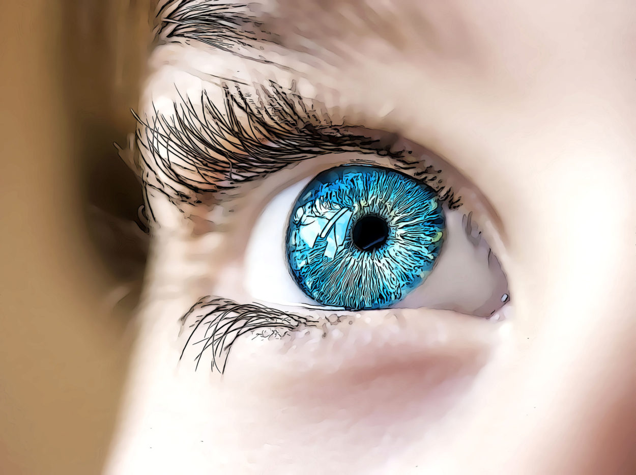 Playing games improves eyesight