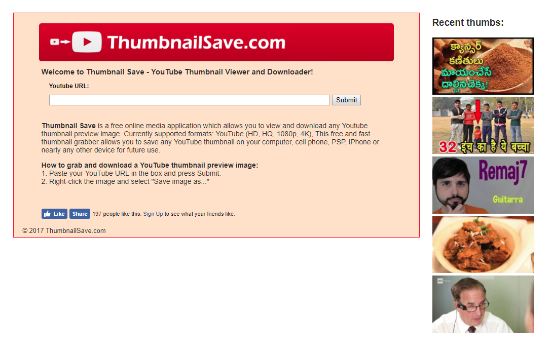 how to download youtube thumbnail 2018