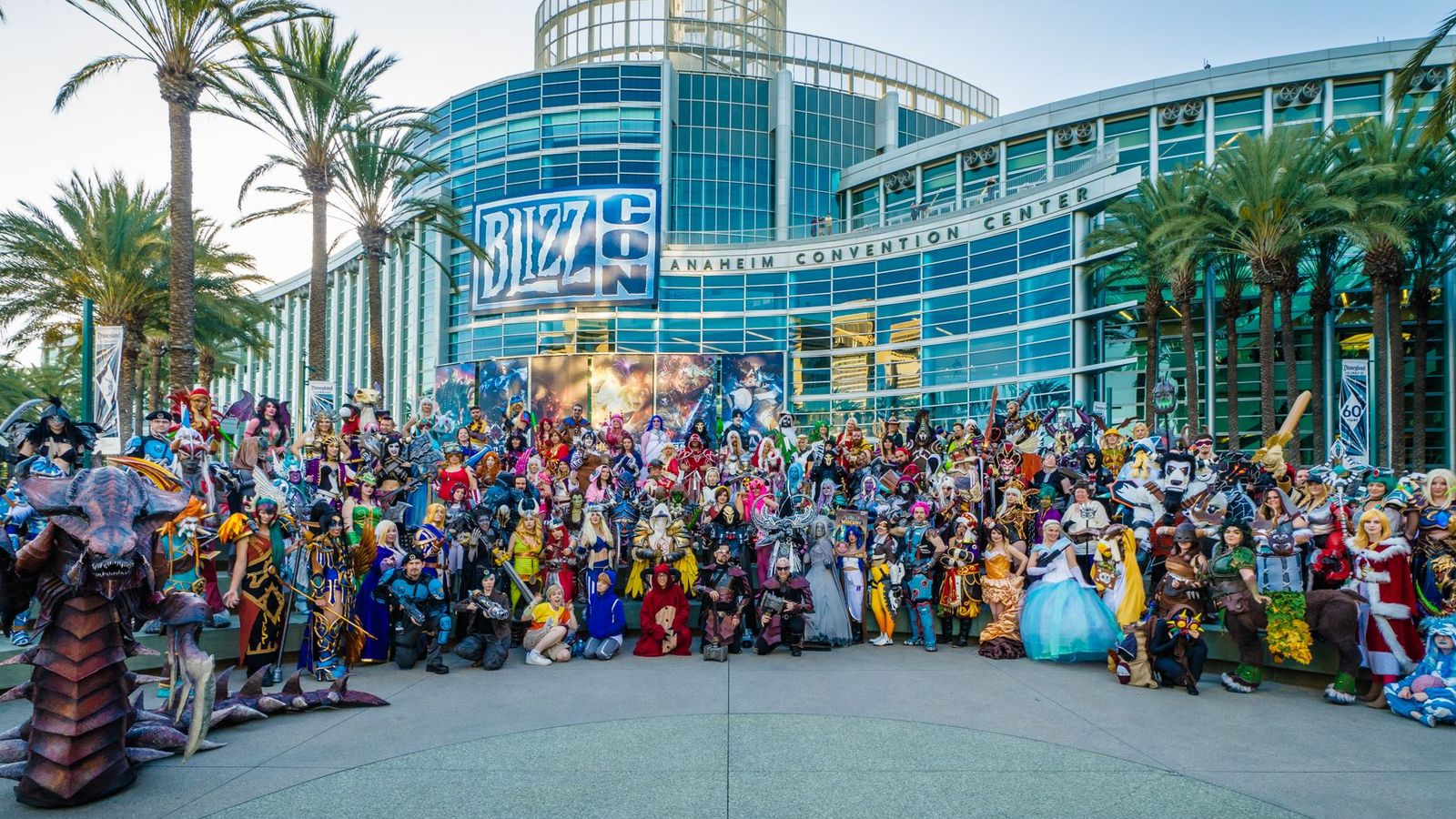 Blizzcon cosplayers