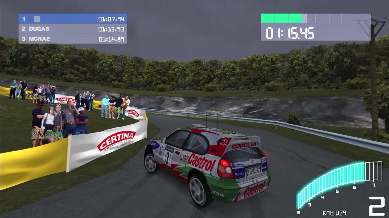 Colin McRae Rally 2.0 car race