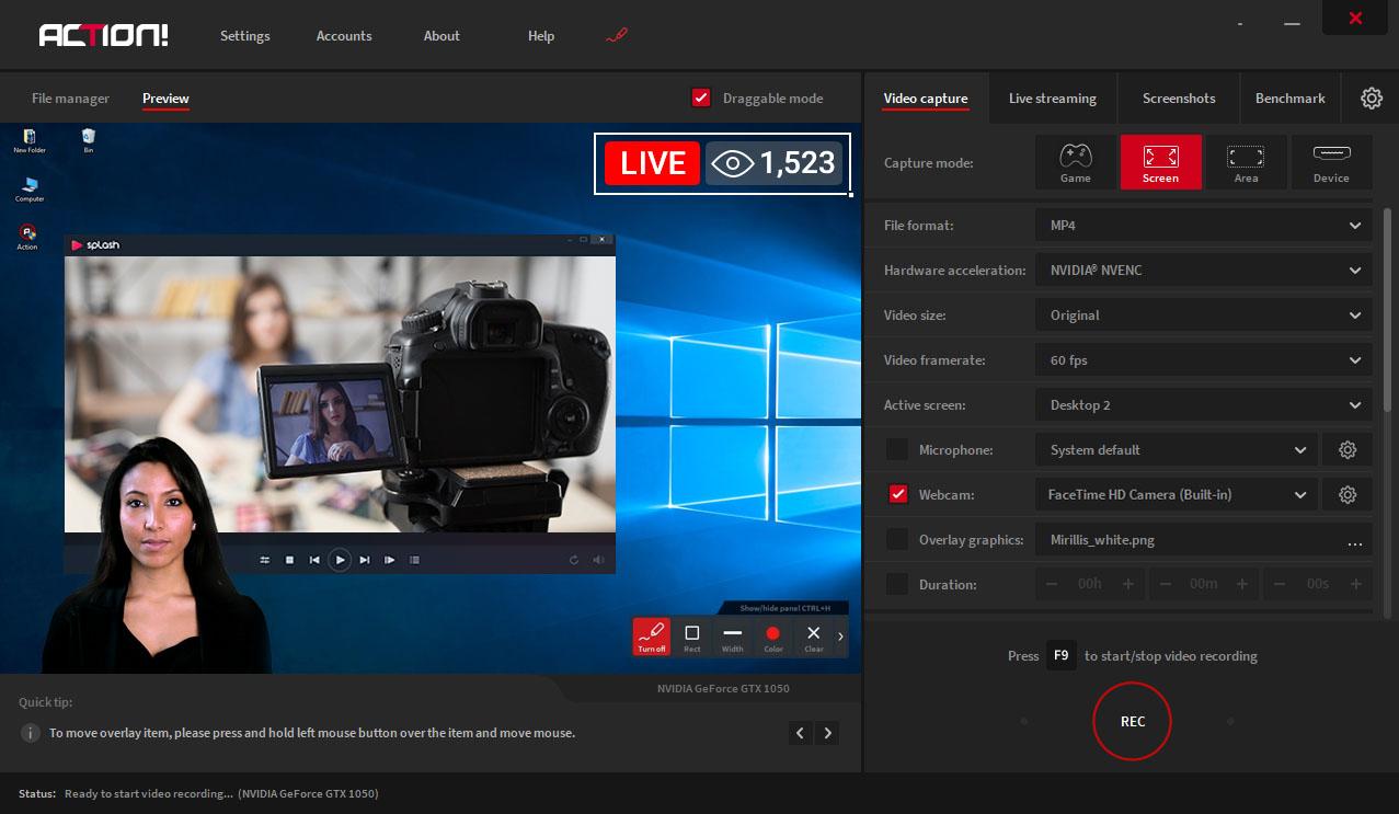 Program do nagrywania ekranu