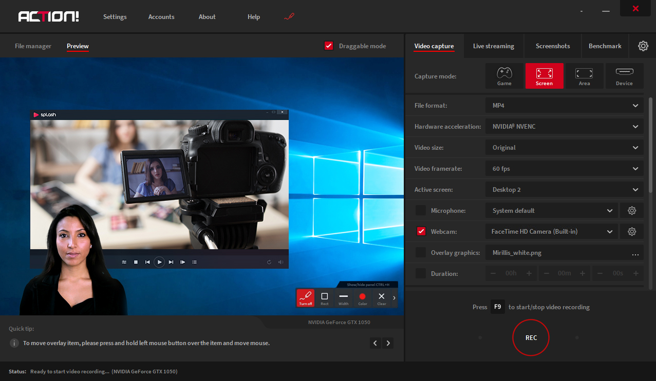 Action! Program do Nagrywania Ekranu w Ultra HD