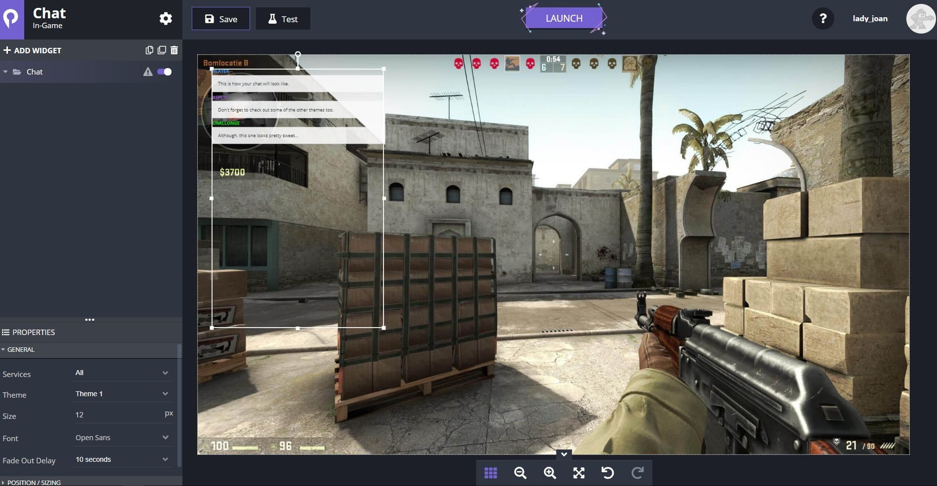 How to view chat ingame on one monitor | Fast & easy way! 2019