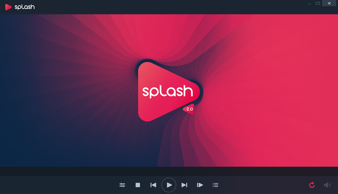 Splash player