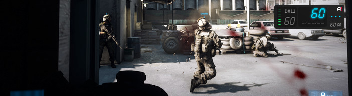 Mirillis Action! - Battlefield 3 benchmarking