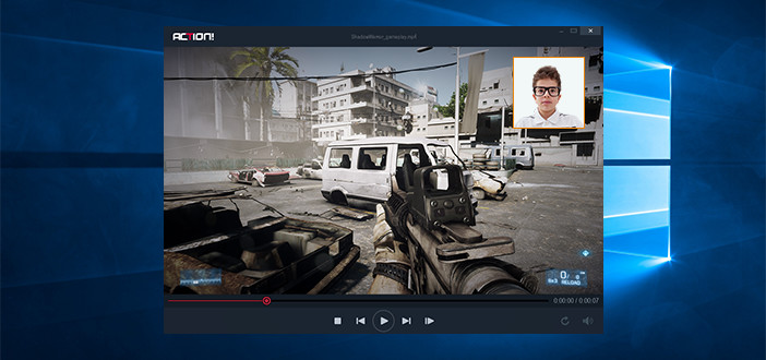Mirillis Action! - Add webcam to Battlefield 3 gameplay recordings