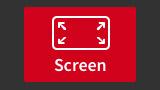 Active screen recording mode