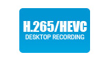 Screen recording using H.265/HEVC with NVIDIA NVENC