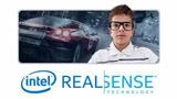 Screen and game recording adding webcam with Intel RealSense technology