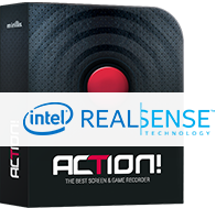 Action! with Intel RealSense support