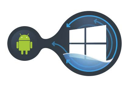 All Windows applications accessed from Android devices!