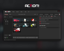Action! Settings - Export