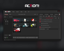 Action! Settings - HUD