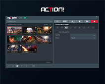 Action! Settings - Overlay graphics