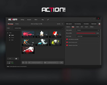 Action! Settings - Video