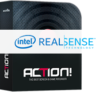 Action! screen and gameplay recording software box