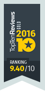 TopTenReviews award for Action!