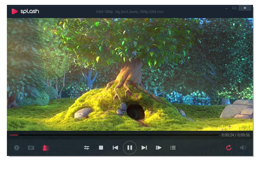 Splash - Free HD/4K Video Player screenshot