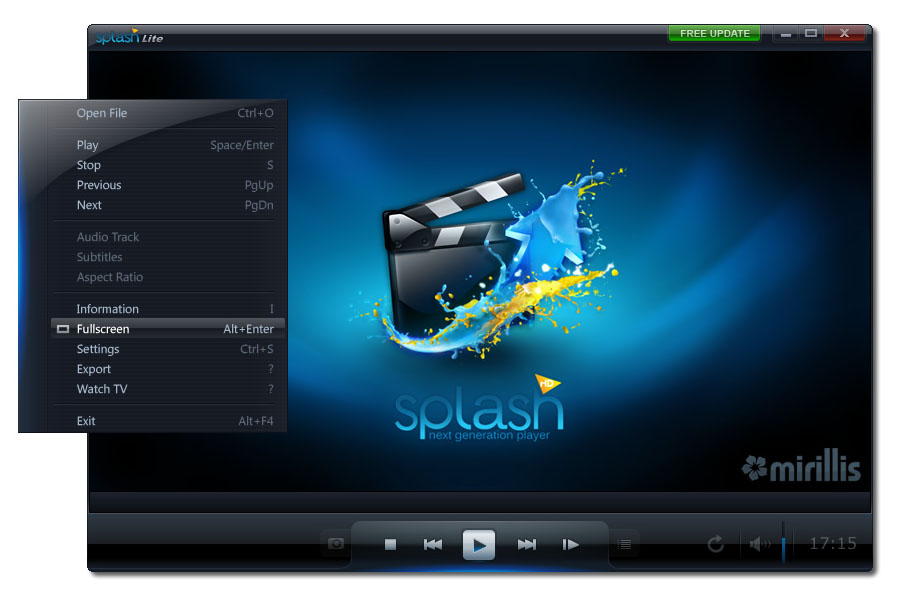 Splash Lite - HD Video Player